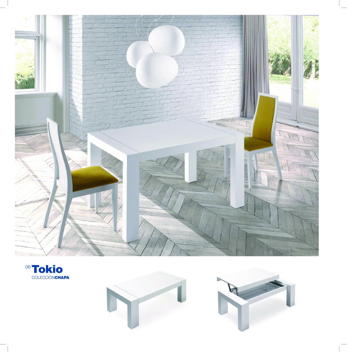 mesas y sillas muebles candela